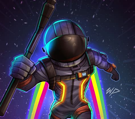 wallpaper dark voyager fortnite battle royale