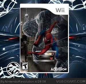 Spider-Man 3 Wii Box Art Cover by NintendoRevolution