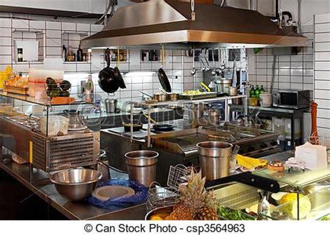 stock   restaurant kitchen interior