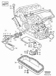 Volvo 760 Hose  B280  Lubricating System  B280f  Engine