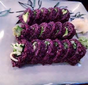 Purple Sushi Rice