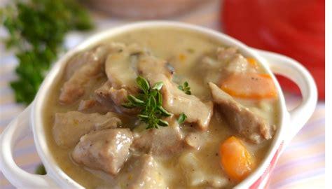 recette de cuisine blanquette de veau recette de blanquette de veau à l 39 ancienne