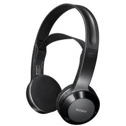 Sony Sony MDRIF245RK Black Wireless Stereo Headphones