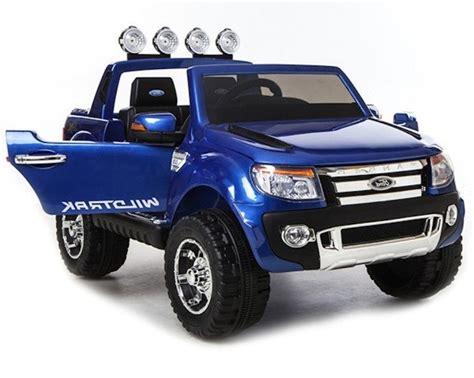 ford ranger elektroauto elektroauto f 252 r kinder ford ranger blau lackiert fm