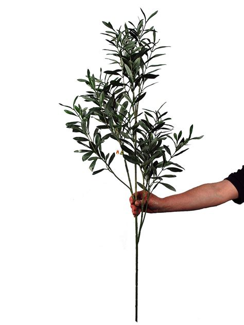 plantart artificial olive leaves artificial olive branches