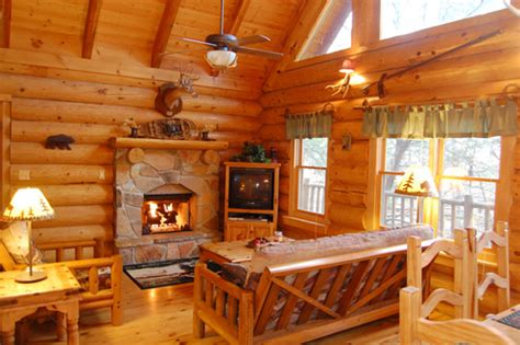 parkcliff log cabins  roaring river   cabins