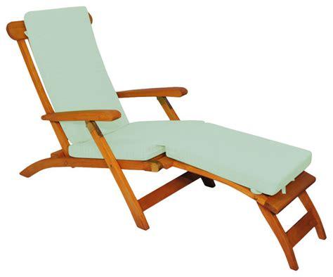 teak chaise lounge chairs teak steamer chair chaise lounge with sunbrella cushion