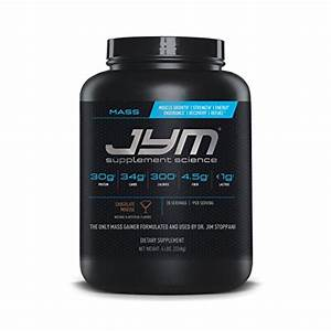 Jym Supplement Science Mass Lean Weight Gainer Protein Powder Chocolate Mousse 817047020256