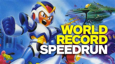Mega Man X World Record Speedrun Youtube