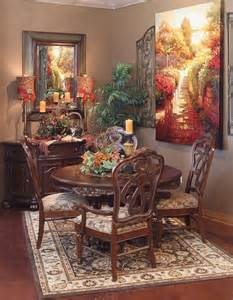 decorated model home tuscan dining rooms pinterest