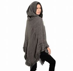 Big scarves winter scarf Sweater poncho women Bohemian ...