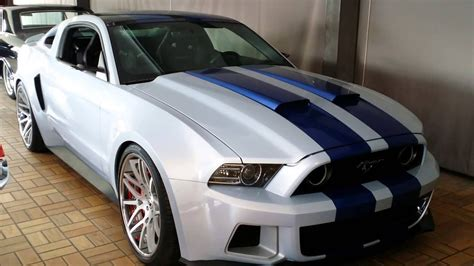 Ford Mustang From The Need For Speed Movie With Aaron Paul