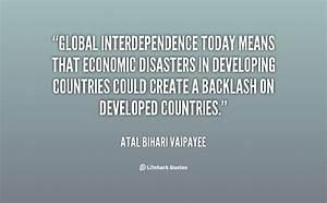 Interdependence Quotes. QuotesGram