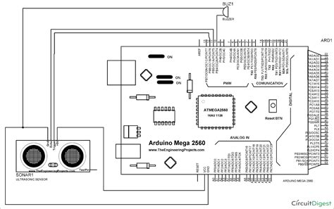 Door Alarm Using Arduino Ultrasonic Sensor