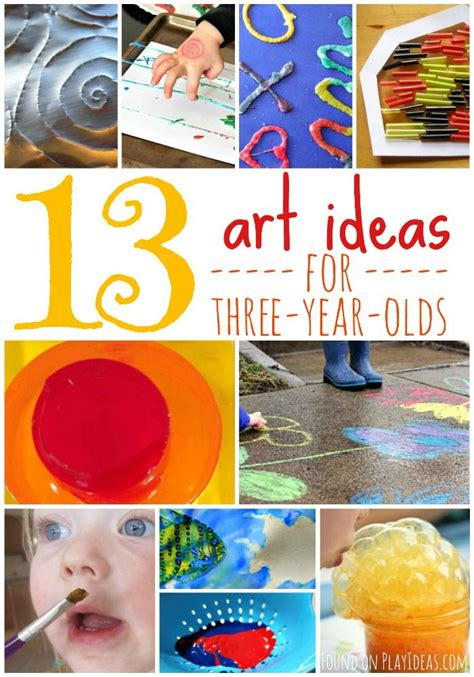 easy art activities   year olds crafts