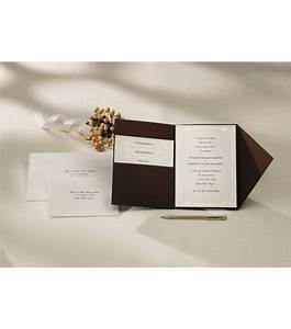 wiltonr pocket invitation kit vintage ivory wedding With joann fabrics wedding invitations kits