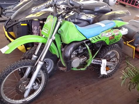Motorbike -kawasaki -80cc Motor Cross Type -untested -vin