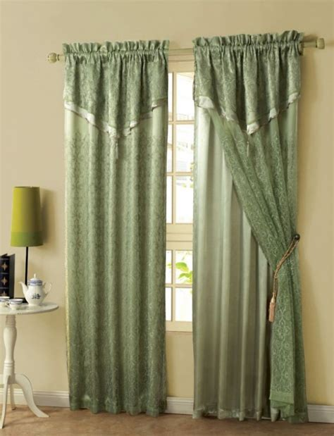 what color curtains go with green walls beautiful