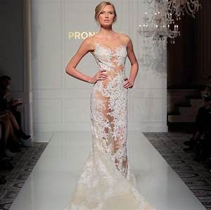 new york bridal fashion week photos sheer wedding With see through wedding dress pictures