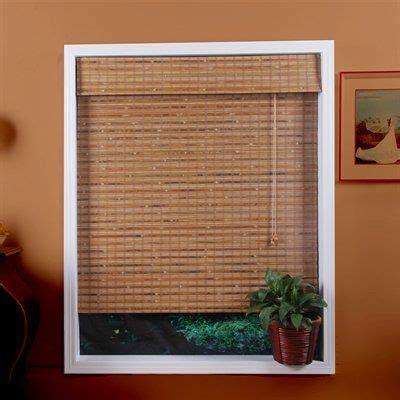 arlo blinds tbc bali natural bamboo roman shade lowes