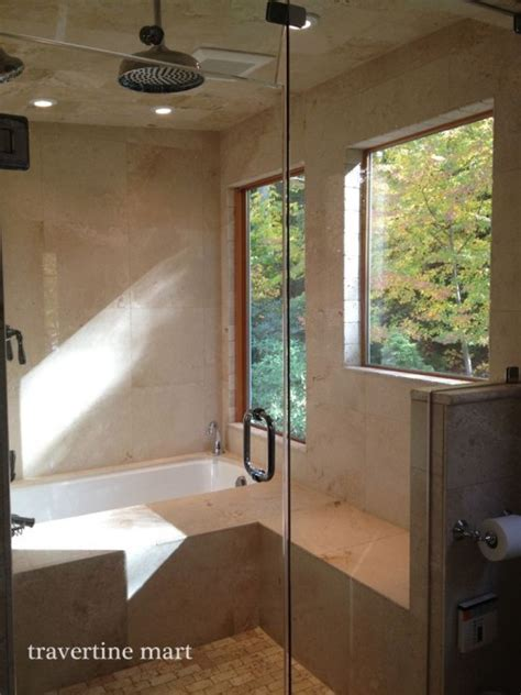 Is Travertine Good For Showers?