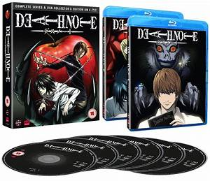 Review of Death Note: Blu-Ray Collection | Ian Wolf: Odd ...