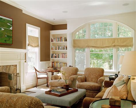 window valance ideas family room traditional  arched