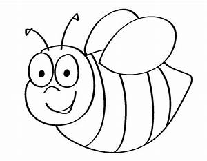 Bee coloring pages cute - ColoringStar