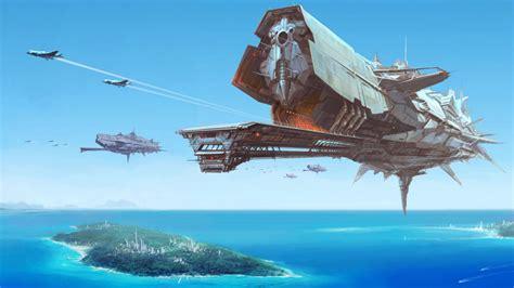 Ship Io by Sci Fi Battle Space Ship Wallpaper Http Digitalart Io