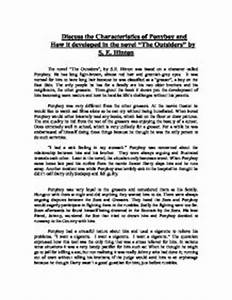 Examples Of Argumentative Thesis Statements For Essays The Outsiders Book Notes Essay For High School Application also How To Write A High School Essay The Outsiders Book Essay Sir Isaac Newton Essay The Outsiders Book  Independence Day Essay In English