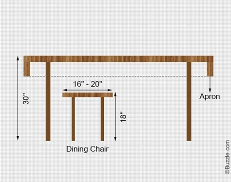 dining table    height   dining table