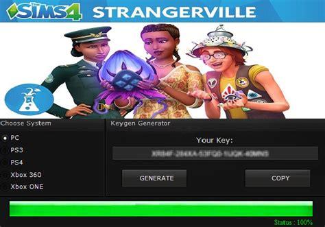 The Sims 4 Strangerville Key Generator Keygen For Full