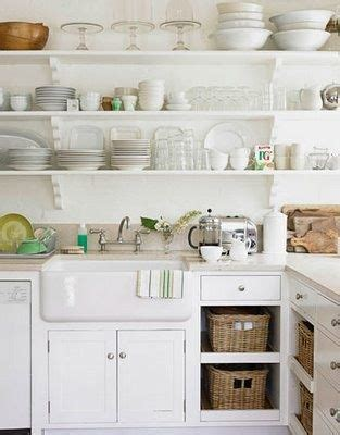 cottage kitchen decor 78 images about open shelves on open kitchen 4357