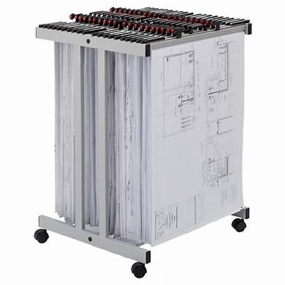 Trolley Carrier Sheet Drawing Hanger Racks Vistaplan