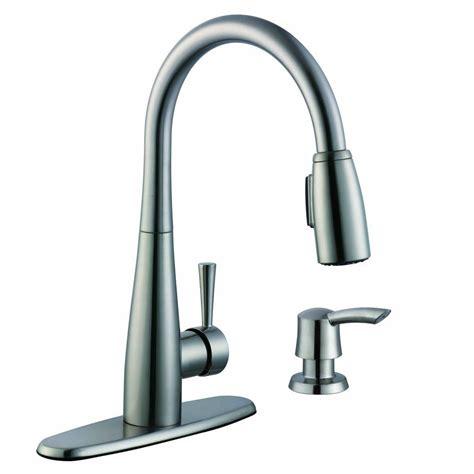 glacier bay kitchen faucet reviews glacier bay 900 series single handle pull sprayer
