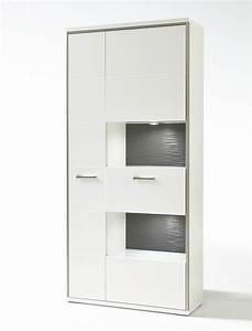 Wohnzimmer Vitrine Weiß Hochglanz : esszimmerschrank wei hochglanz ~ Bigdaddyawards.com Haus und Dekorationen