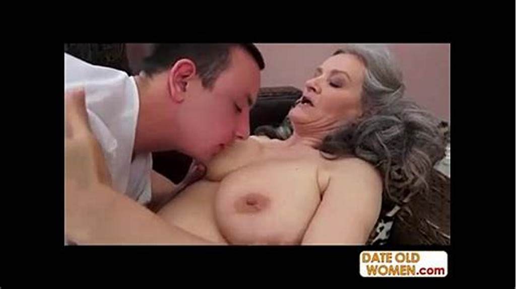 #Grey #Hair #Grandmother #Takes #It #Deep