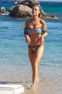 joanna krupa bikini candids  mykonos gotceleb