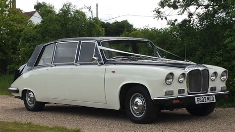 Wedding Car Hire East by Classic 7 Seat Daimler Limousine Wedding Car Hire East