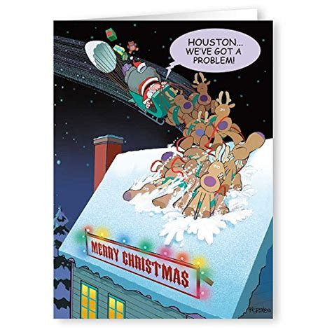 Shop outrageous funny christmas cards sets at jam paper! 18 Funny Boxed Christmas Cards - Houston We Have A Problem ...