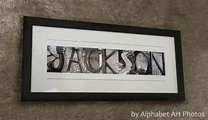 wall art ideas design jackson personalized last name With personalized name wall art letters