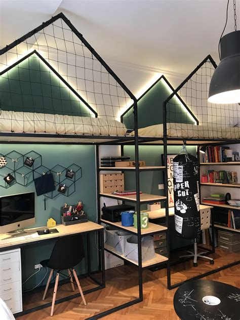 mommo design loft beds   boys kids bedrooms