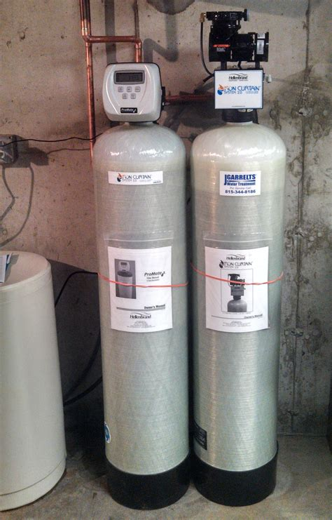 iron curtain water filter stop rust odors and bad