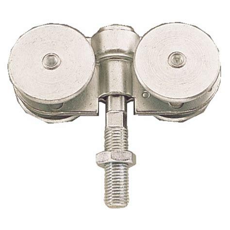 Roulettes Doubles Pour Porte Coulissante 150 Kg Faible