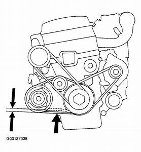 1997 Acura Integra Serpentine Belt Routing And Timing Belt