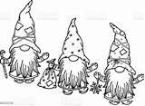 Söta Teckningar Silhuett Gnomen Schwarze Knap Silhouet Caricatures Vectorielles Noire Gnomi Carini Skrzat Leuke Tecknade Mellanrumet Gulliga Fiamme Lettere Pompina sketch template