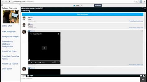 Stream Live Video To Website Chatwing Free Chat Rooms App