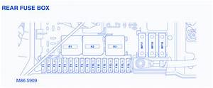 Range Rover 4 4l V8 2003 Fuse Box  Block Circuit Breaker Diagram  U00bb Carfusebox