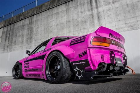 rocket bunny pink sx nissan sports cars jdm cars