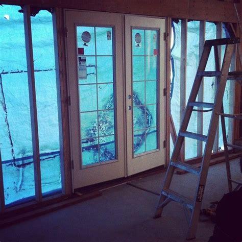 convert garrage door to windows garage conversion replace garage door with doors ideas for current house